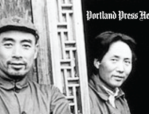 "Portland Press Herald ""Surgeon's WWII Novel set amid Chinese campaign."""